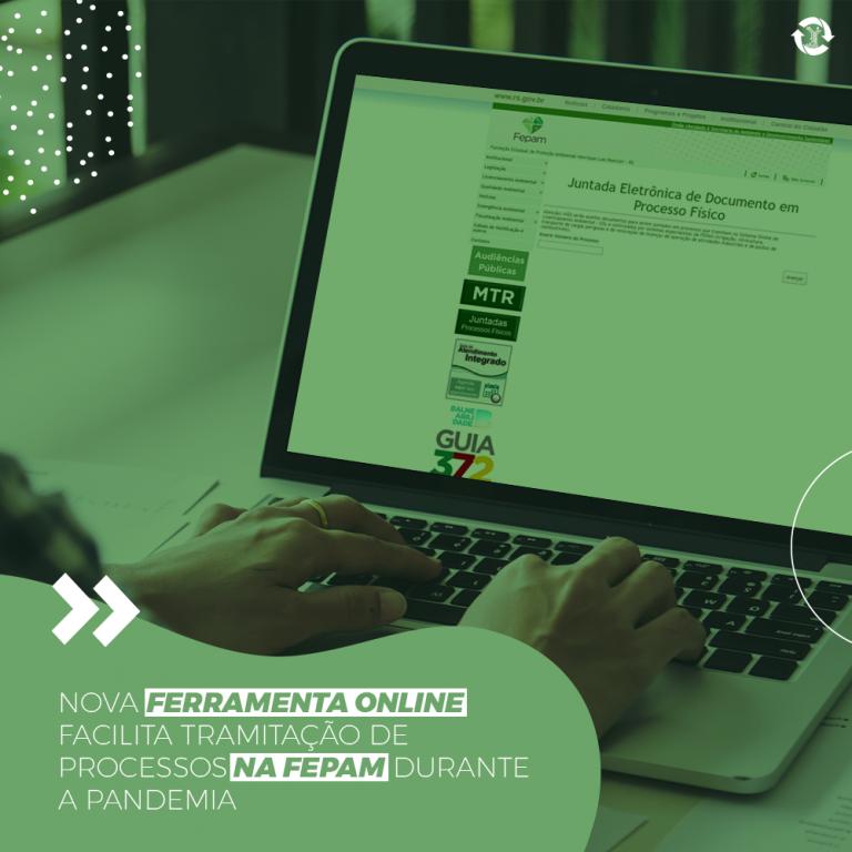 Nova ferramenta online facilita tramitação de processos na FEPAM durante a pandemia