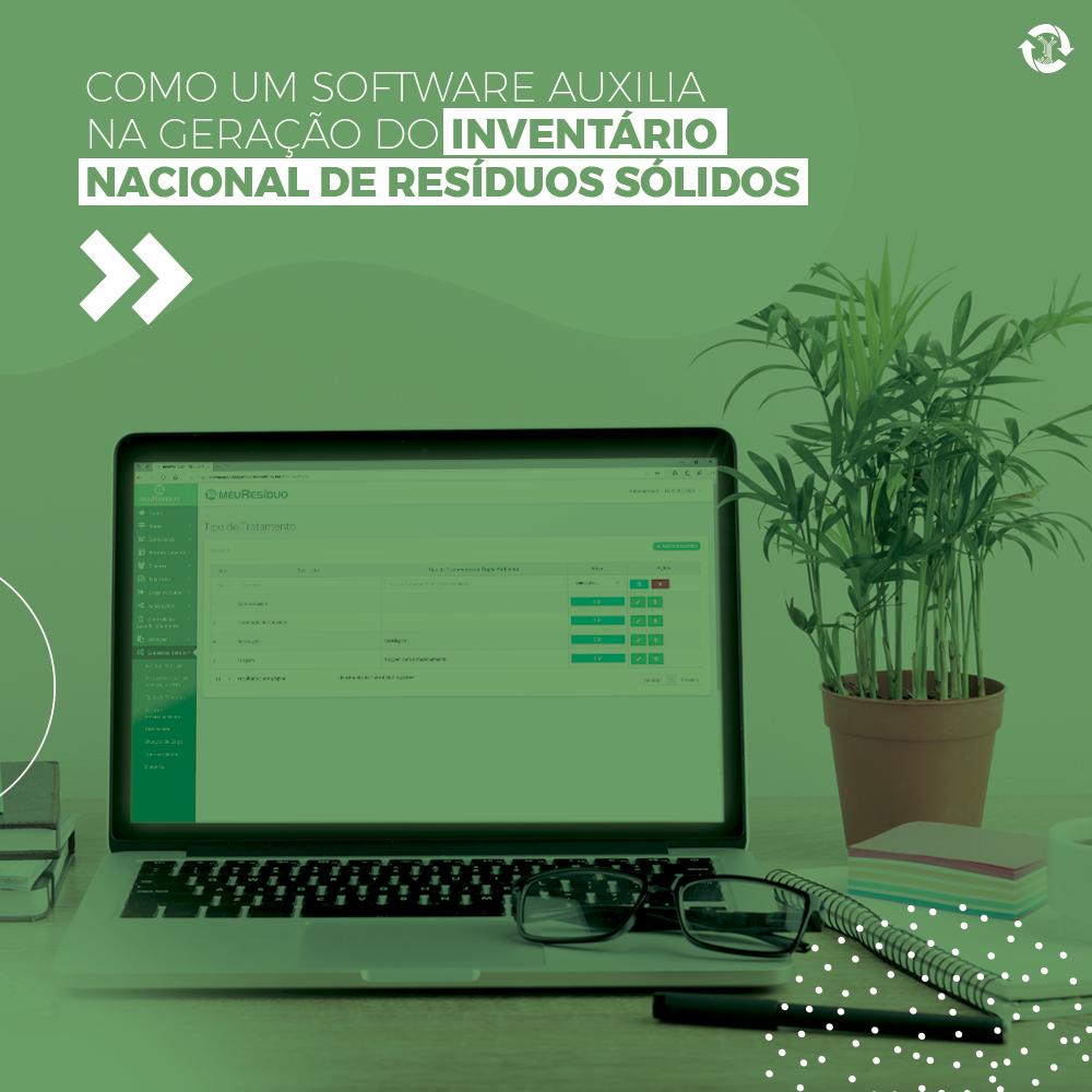 Como um software auxilia na geração do Inventário Nacional de Resíduos Sólidos