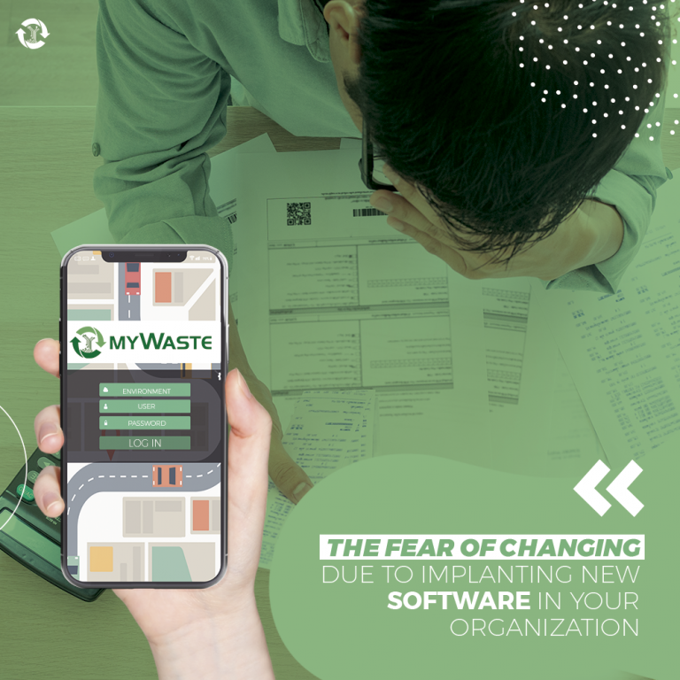 The fear of changing due to implanting new software in your organization