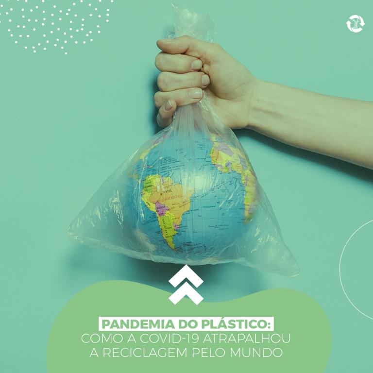 Pandemia do plástico: Como a Covid-19 atrapalhou a reciclagem pelo mundo