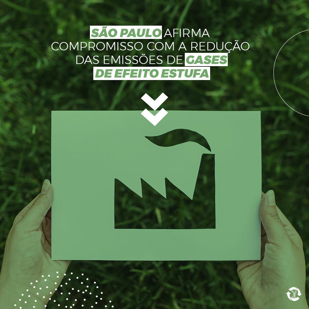 São Paulo afirma compromisso com a redução de emissões de gases de efeito estufa