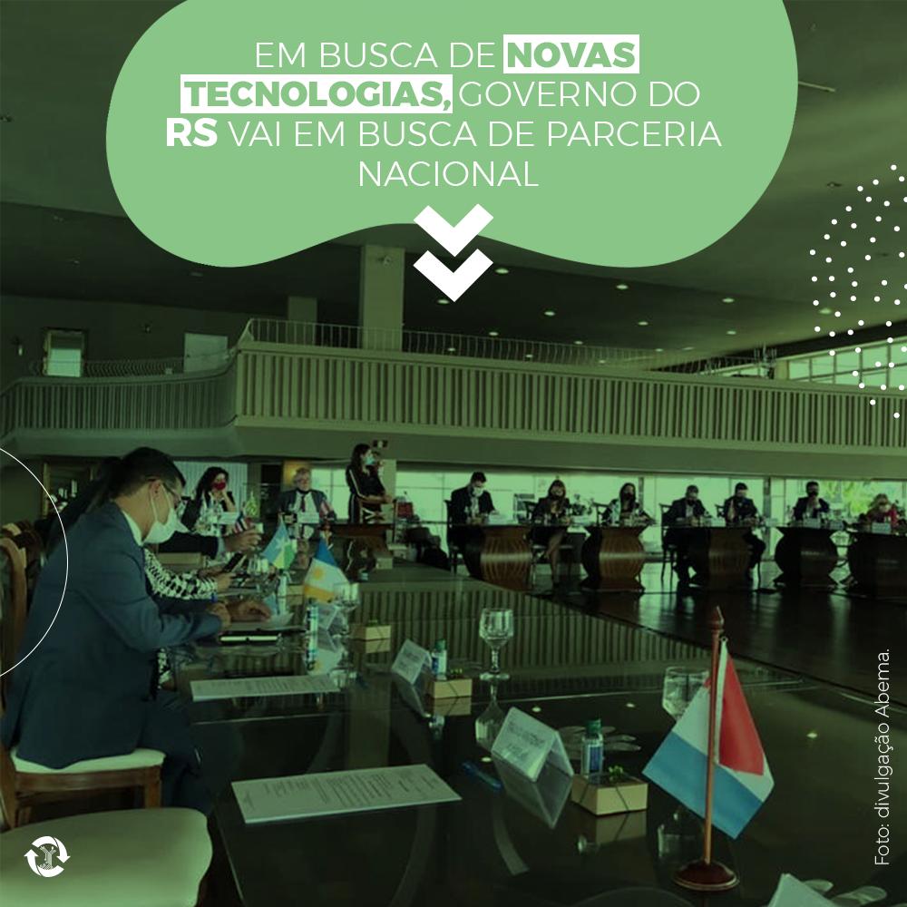 Em busca de novas tecnologias, governo do RS vai em busca de parceria nacional