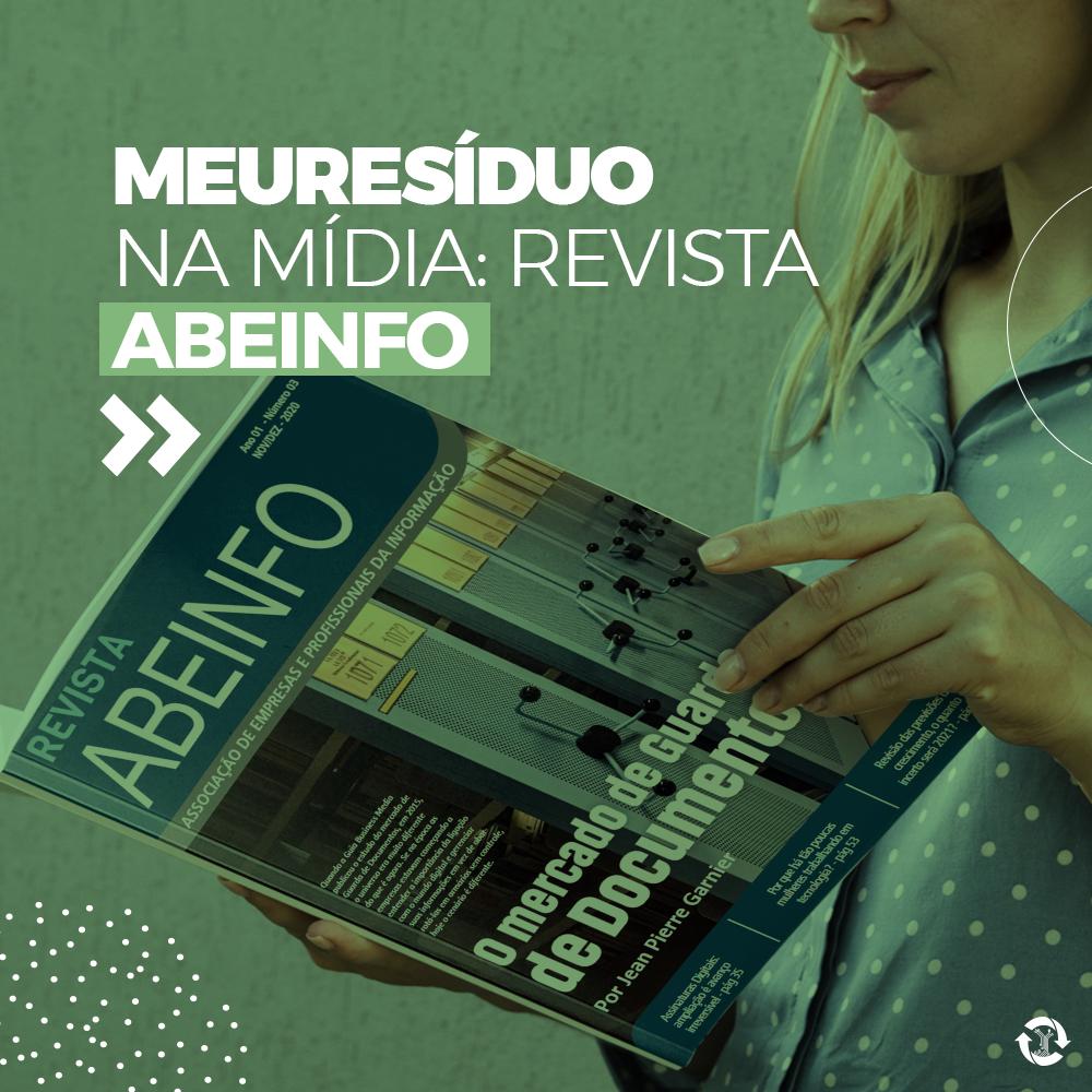 meuResíduo na mídia: revista ABEINFO