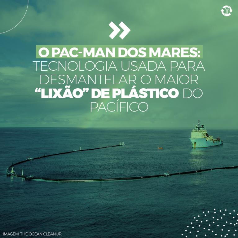 """O Pac-man dos mares: tecnologia usada para desmantelar o maior """"lixão"""" de plástico do Pacífico"""