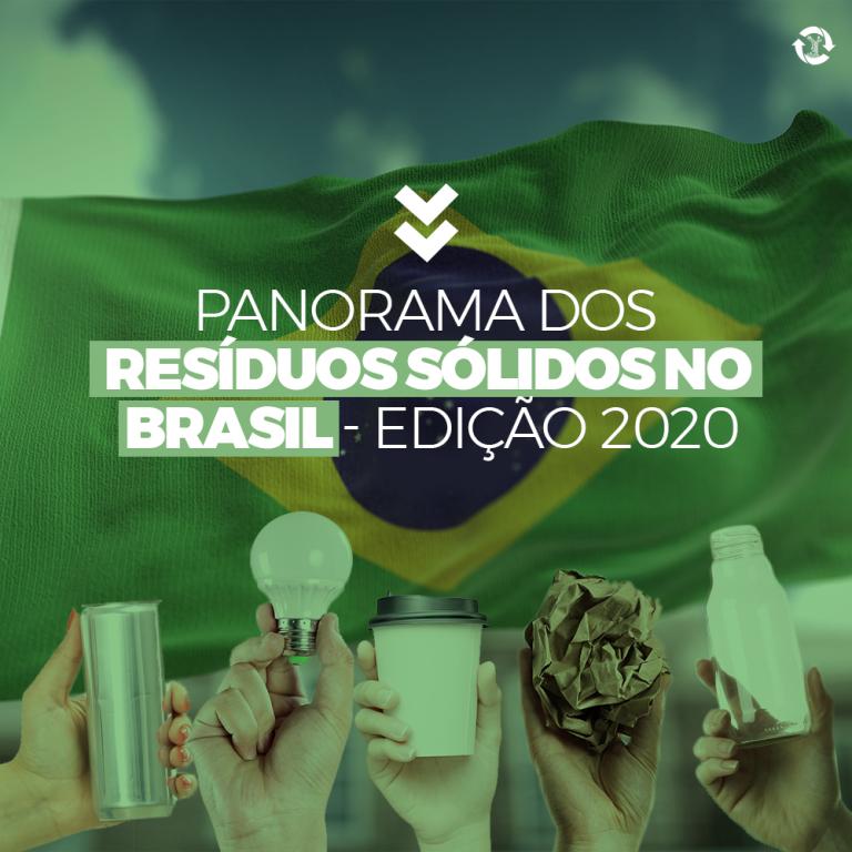 Panorama dos Resíduos Sólidos no Brasil edição 2020