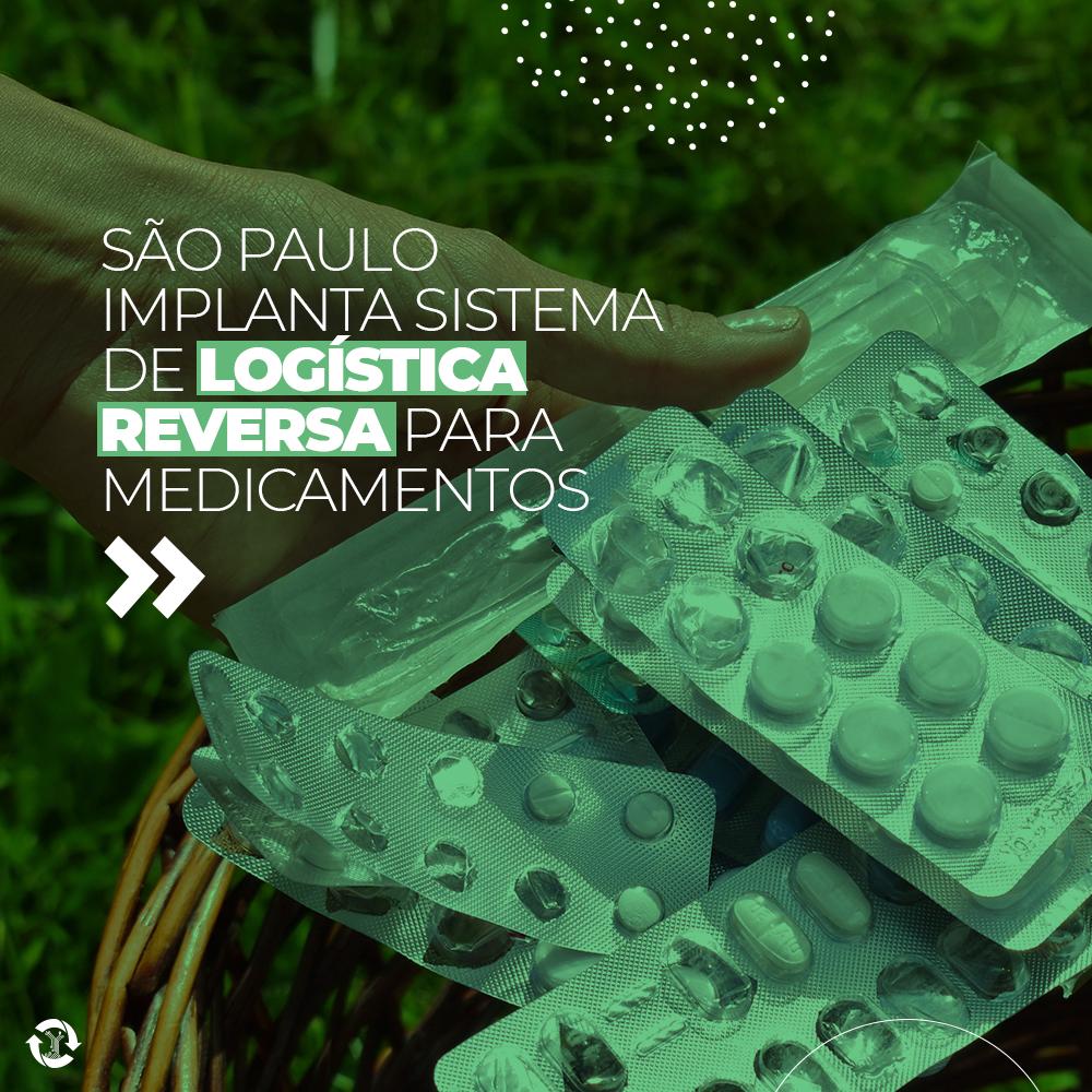 São Paulo implanta sistema de logística reversa para medicamentos