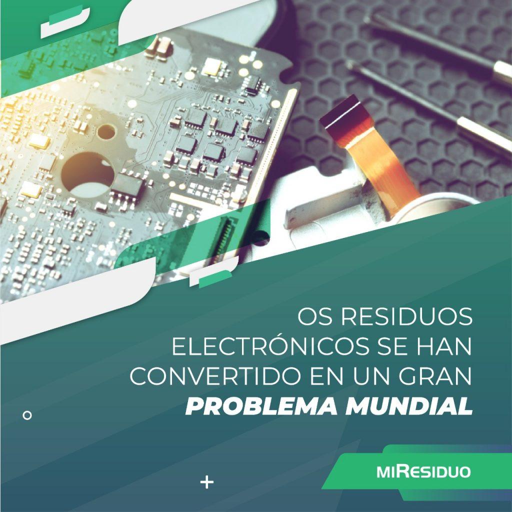 Los residuos electrónicos se han convertido en un gran problema mundial