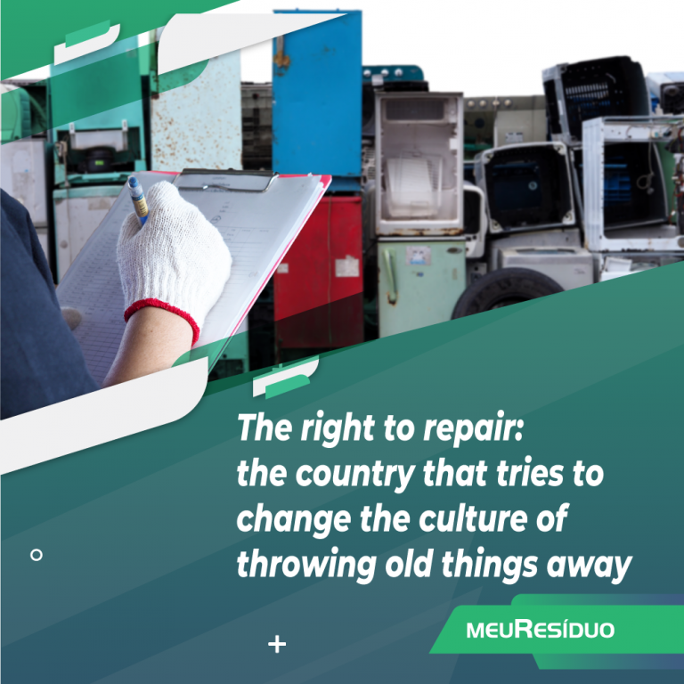 The right to repair: the country that tries to change the culture of throwing old things away