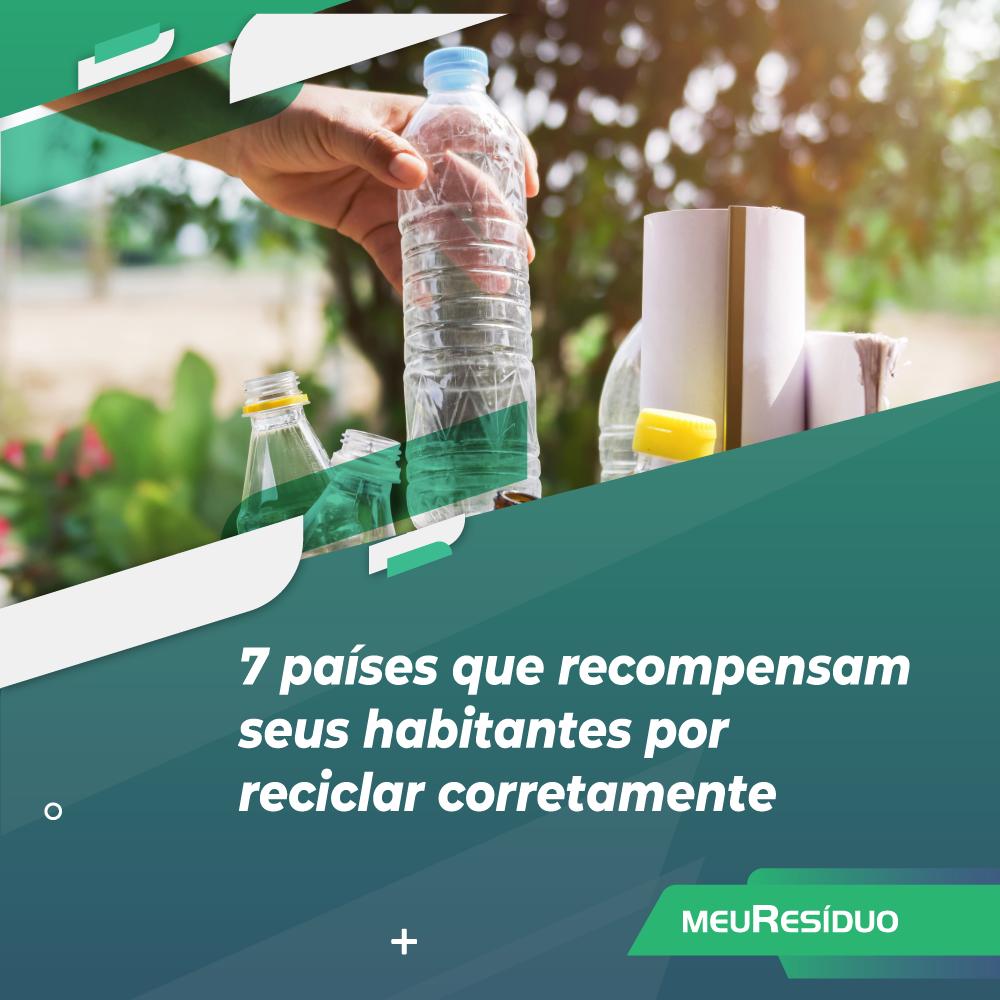 7 países que recompensam seus habitantes por reciclar corretamente