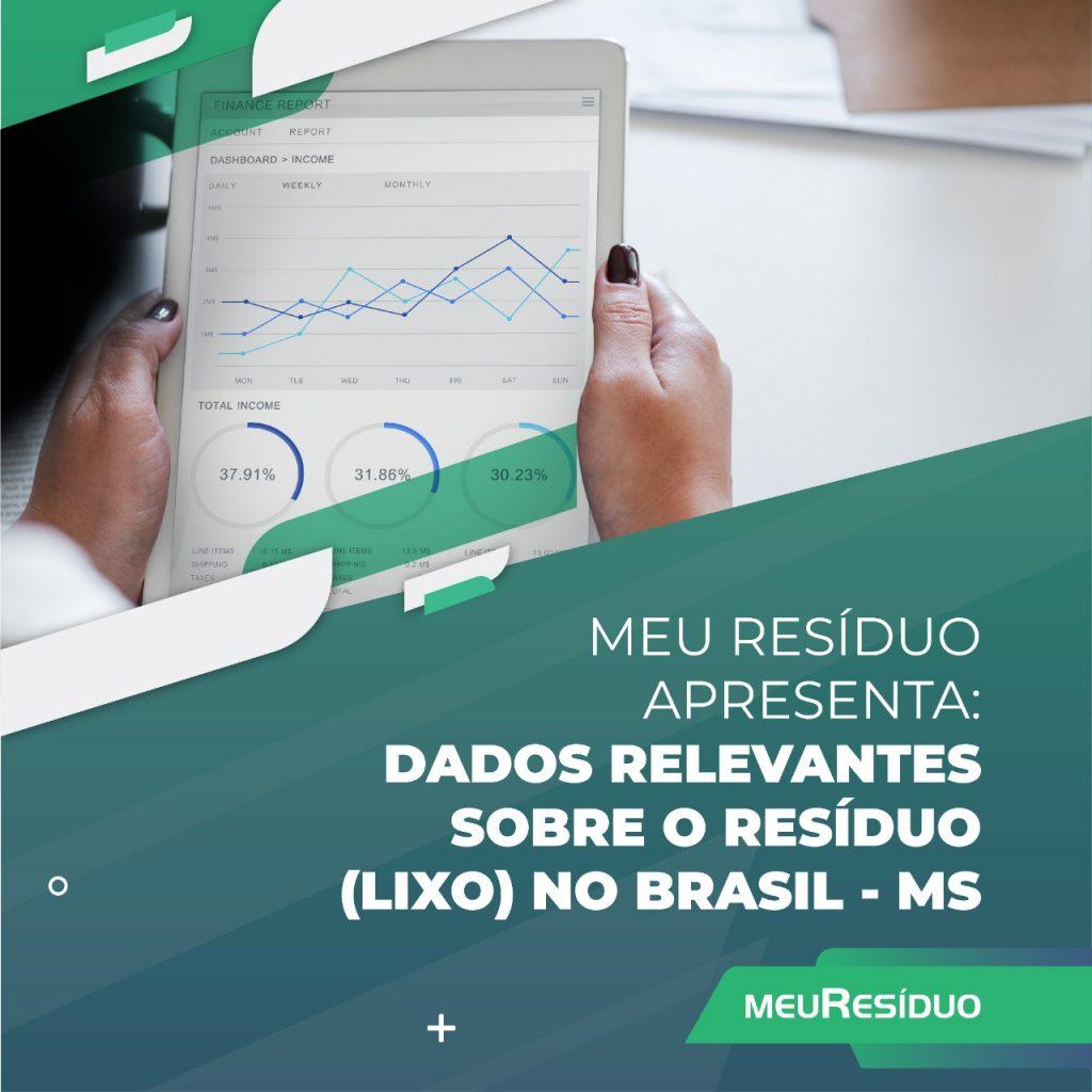 A meuResíduo apresenta: DADOS RELEVANTES SOBRE O RESÍDUO (LIXO) NO BRASIL – ALAGOAS