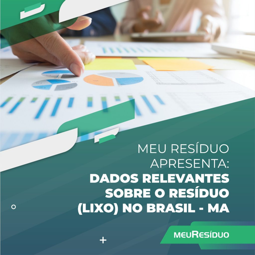 A meuResíduo apresenta: DADOS RELEVANTES SOBRE O RESÍDUO (LIXO) NO BRASIL – MARANHÃO